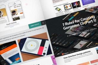 Graafinen.com - Ideoita käyttöliittymäsuunnitteluun